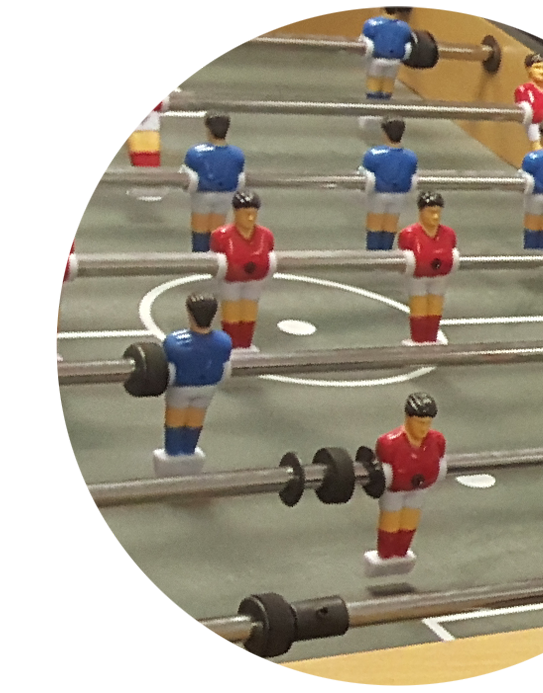 Foosball competitive arena